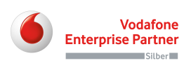 Vodafone Enterprise Partner silber
